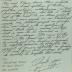 "Correspondence from Frank Bonilla's nephew ""Kenneth"""