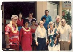 Boricua Hawaiiana exhibit organizers and participants