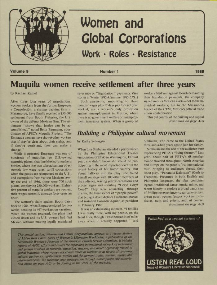 Women and Global Corporations
