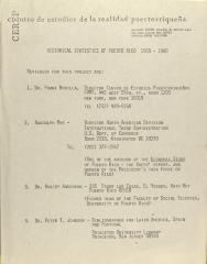 Historical Statistics of Puerto Rico: 1900-1980