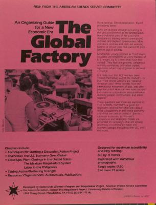 An Organizing Guide for a New Global Era: The Global Factory
