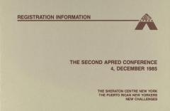 The Second APRED Conference