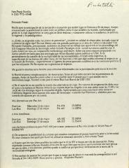 Correspondence from Consejo Latinoamericano de Ciencias Sociales (CLASCO)