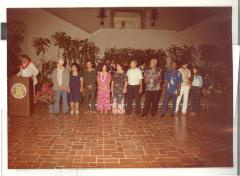 Boricua Hawaiiana exhibit participants