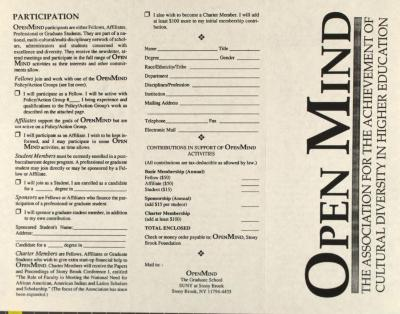 OpenMind - The Association for the Achievement of Cultural Diversity in Higher Education