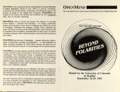 Beyond Polarities