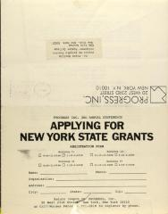 Applying For New York State Grants