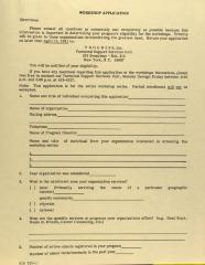 PROGRESS - Workshop Application