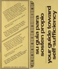 Su Guía Para Sostén Propio / Your Guide Towards Self-Sufficiency