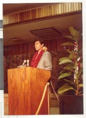 Boricua Hawaiiana opening speaker