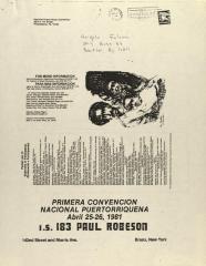 Primera Convención Nacional Puertorriqueña / First Puerto Rican National Convention