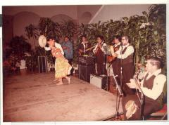 Puerto Rican dance group during opening of Boricua Hawaiiana exhibit