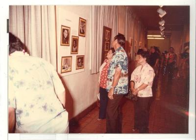 Boricua Hawaiiana exhibit