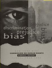 New York City Commission on Human Rights - Annual Report