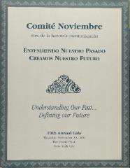 Entendiendo Nuestro Pasado, Creamos Nuestro Futuro / Understanding Our Past . . . Defining Our Future