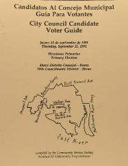Candidatos Al Concejo Municipal Giua Para Votantes / City Council Candidate Voter Guide