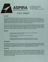 ASPIRA - Fact Sheet