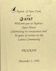 ASPIRA Open House - Program
