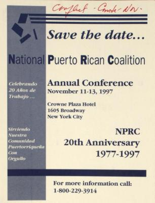 National Puerto Rican Coalition Conference