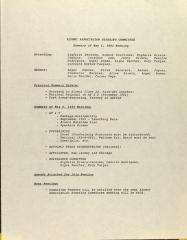 Alumni Association Steering Committee - Summary of May 5, 1993 Meeting