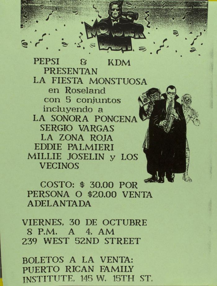 La Fiesta Monstuosa