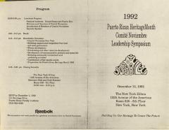 Puerto Rican Heritage Month Comité Noviembre Leadership Symposium