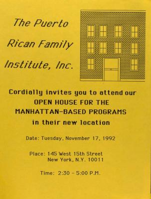 Puerto Rican Family Institute - Open House