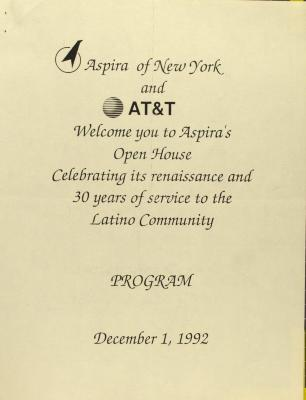 ASPIRA's Open House