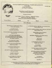 Raices Puertorriqueñas / Puerto Rican Roots