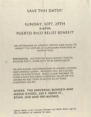 Puerto Rico Relief Benefit