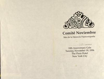 Comité Noviembre - 10th Anniversary Gala