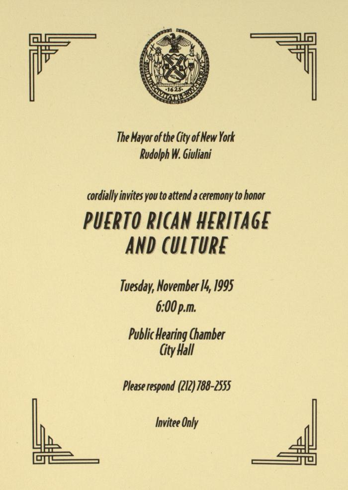 Puerto Rican Heritage and Culture