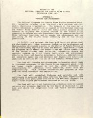 By-Laws of the National Congress for Puerto Rican Rights - Education Fund, Inc.