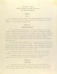 Preliminary - By-Laws - National Congress for Puerto Rican Rights - New York State Council