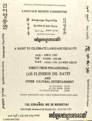 A Night to Celebrate Language Equality
