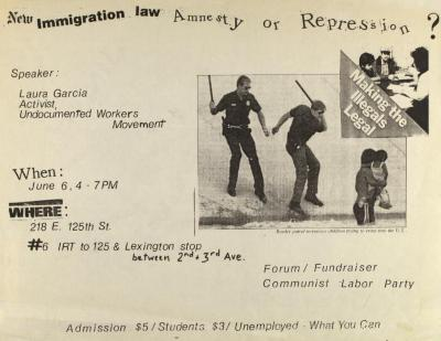 New Immigration Law: Amnesty or Repression?