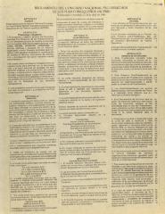 Reglamento del Congreso Nacional Pro Derechos de los Puertorriqueños (NCPRR) / Rules of the National Congress for Puerto Rican Rights
