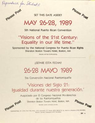 """Visions of the 21st Century: Equality in our life time"""