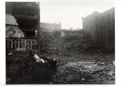 Rubble of a Fallen Building in the South Bronx