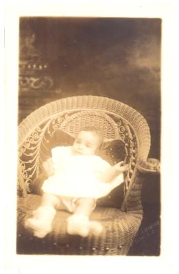 Herman Badillo as a baby