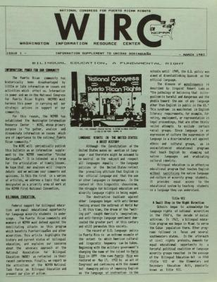 Washington Information Resource Center (WIRC)