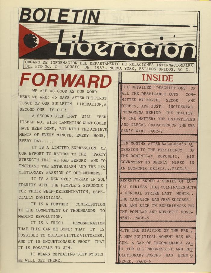 Boletin Liberación