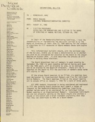 Memorandum from the National Puerto Rican Coalition