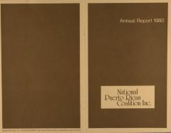 National Puerto Rican Coalition, Inc. - Annual Report 1980