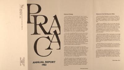 PRACA - Annual Report 1983