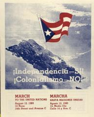 Independencia - Si! - Colonialismo - NO! / Independence - Yes! - Colonialism - NO!