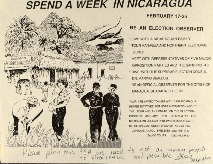 Spend a Week in Nicaragua