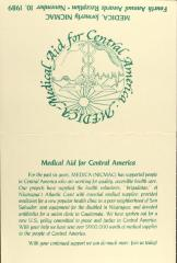 MEDICA - Medical Aid for Central America