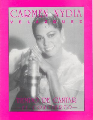 """Cover of program for Carmen Nydia Velazquez """"Tiempo de Cantar: El Concierto"""""""