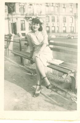 Carmen Gonzalez at the park